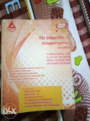 Computer Science For Semester 3 Book