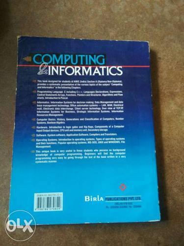 Computing informmation by R.Agor