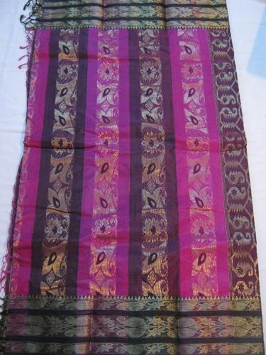 cotton and bengal silk