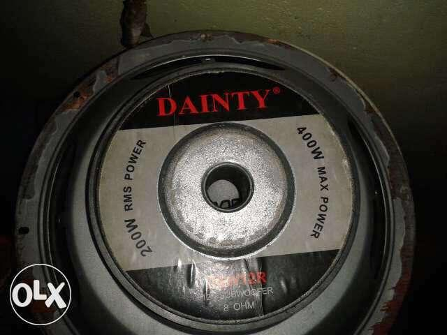Dainty 400 watts 12 inch subwoofer