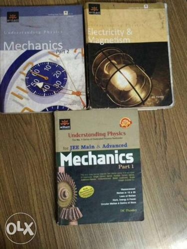 Dc pandey books ( 2mechanics and 1 electricity