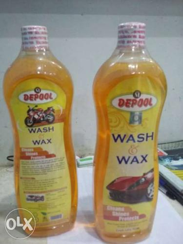Deepol Wash & Wax car wash MRP 450 now only 400