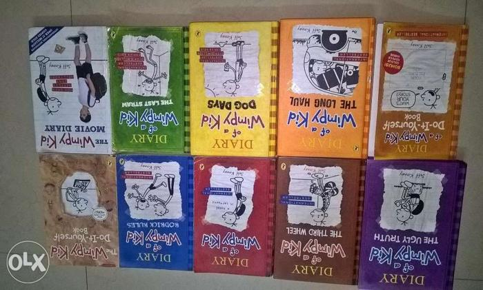 Diary of a wimpy kid Full series in excellent