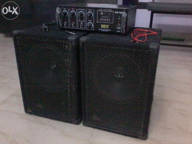 DJ Sound Box & High Power Audio Amplifier for Sale in Durg