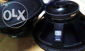 DJ Speakers RCF 18inch x400 8 piece for Sale in Mumbai