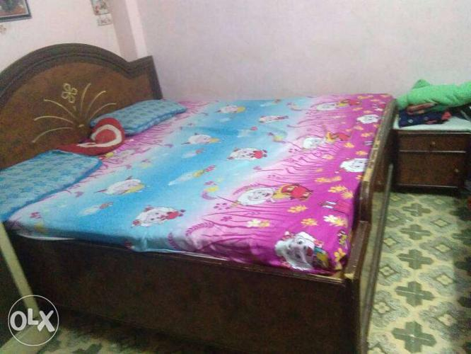Double bed &petipalang using for 3years 6*6with