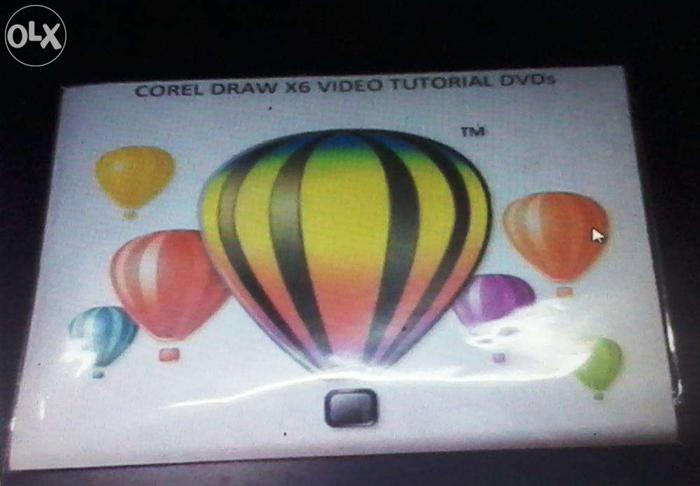 DVD of Corel DRAW X6 Learning Video Training Tutorials - In