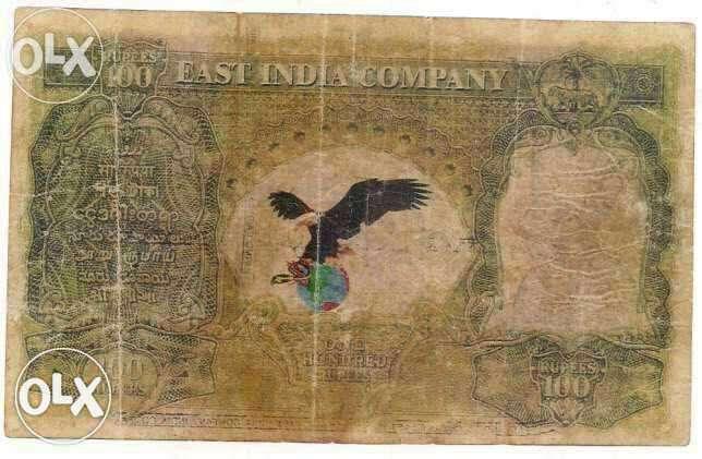 Eagle note of 100rs having cd deshmukh signature