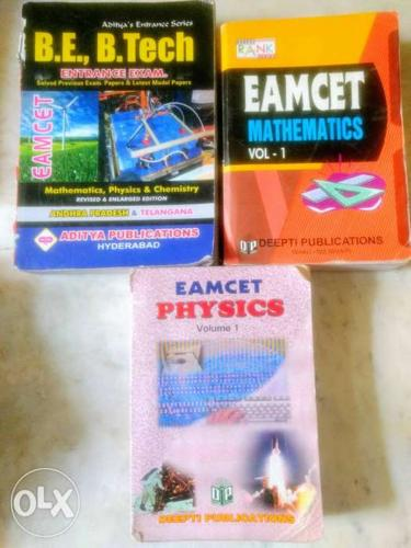 EAMCET references(mathematics ,physics and all in one)