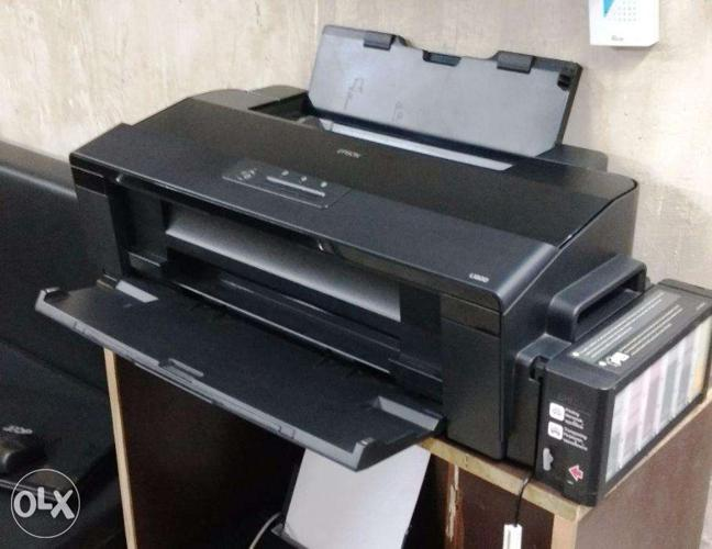 Epson L1800 Printer with sublimation inks for Sale in Kurnool, Assam