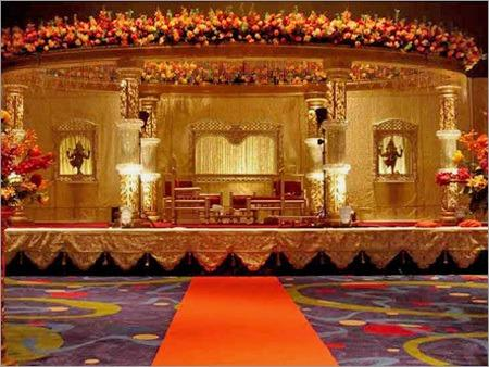 Event Management - Wedding Stage Backdrop Decorations in ...