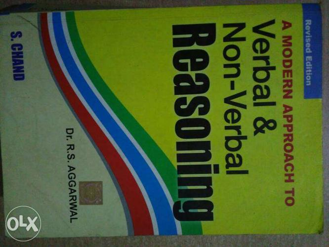 Extreamely new in condition...reasoning book..by RS