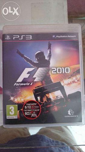 F1 rasing ps3 game dvd