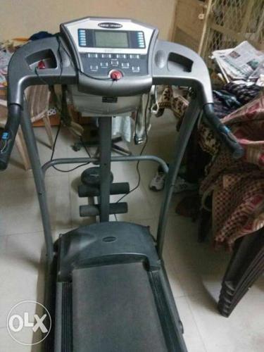 -cosco fitness treadmill -with vibrator belt -a
