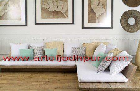 furniture online store L shape wooden sofa set for Sale in