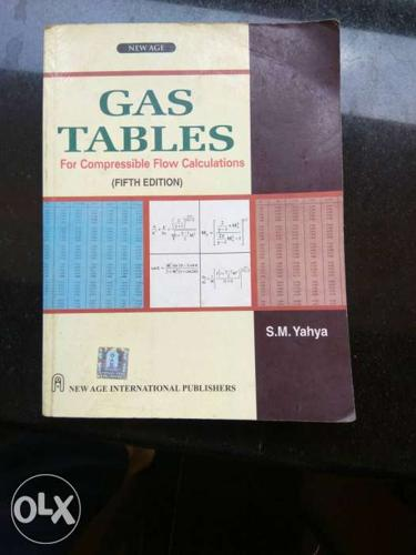 Gas tables and Steam tables
