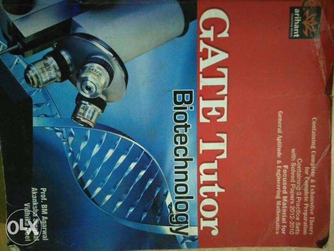 Gate book..biotechnology..