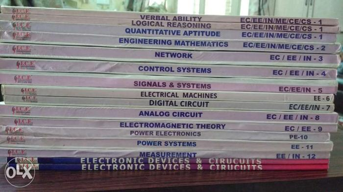 GATE Electrical Engineering Standard Material