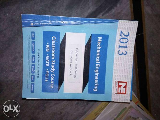 Gate Mechanical Engineering Books And Notes (made for Sale