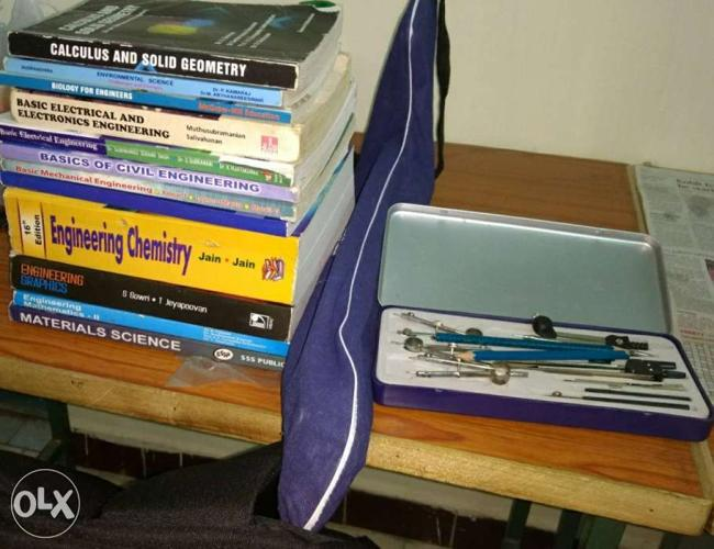 Get all 1st year btech books