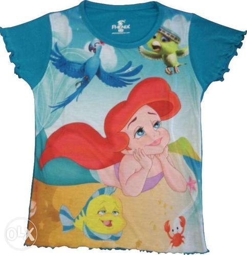 Girls cotton t shirts