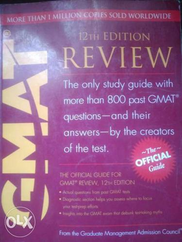 GMAT 12th Edition Review Book