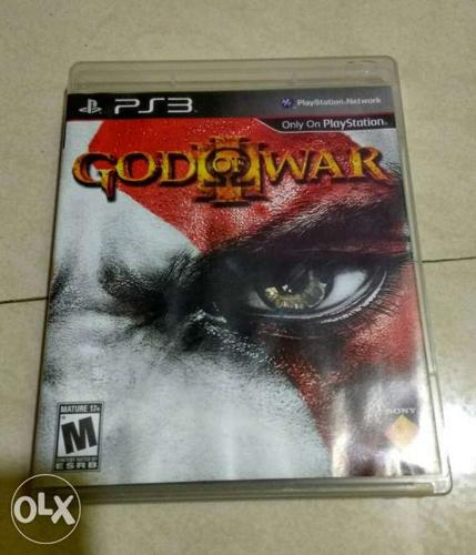 God Of War 3 PS3 Game with Case