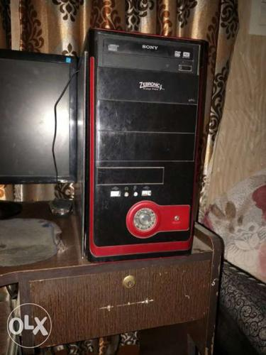 Good condition computer AMD processor 500 gb hard