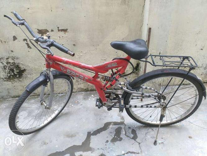 Good conditioned Hero X-Sport Red Coloured with