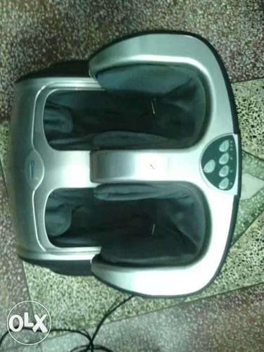 Gray And Black Foot Massager