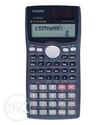 Gray Casio Prims Fx Calculator