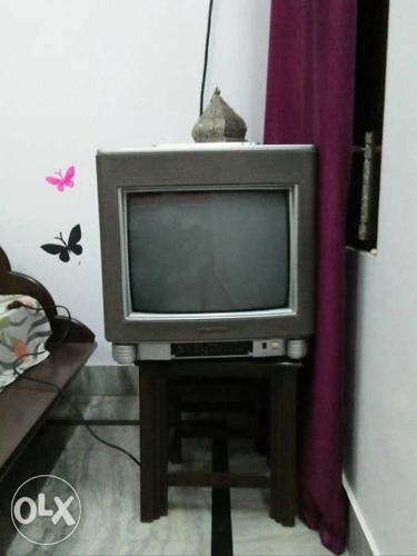 Gray CRT Television Videocon Bazooka