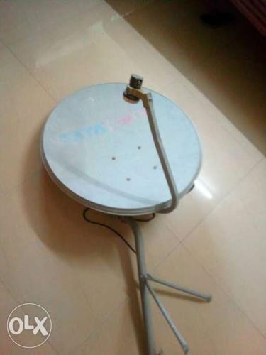 Gray TV Satellite Disc