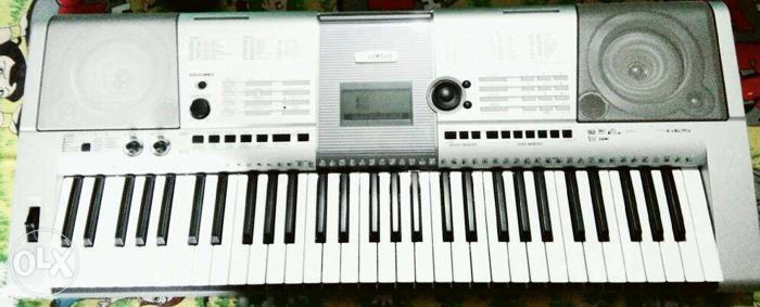 Grey Electronic Keyboard