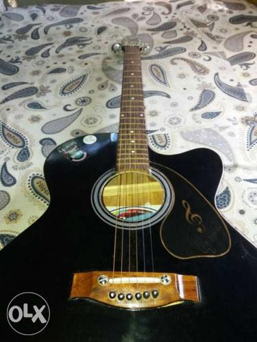 Gulson Acoustic Guitar Colour Black For Sale In Balurghat West