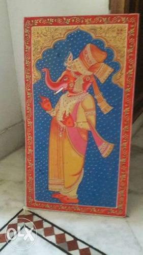 Handicraft Panting Ganesh Ji Np Art For Sale In Jodhpur Rajasthan