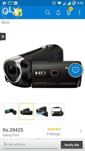 Handy cam sony HD