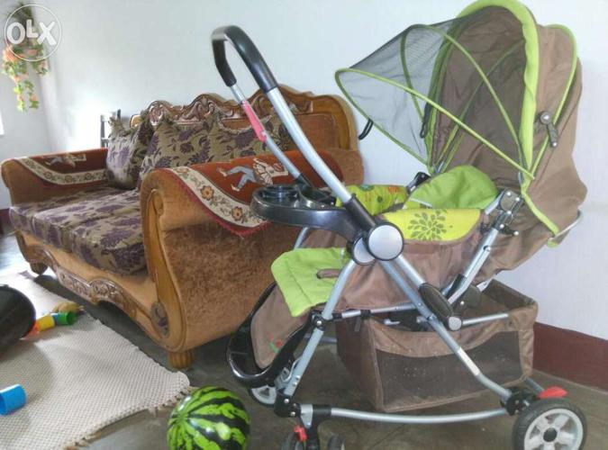 Harry & honey stroller with rocker at telco colony