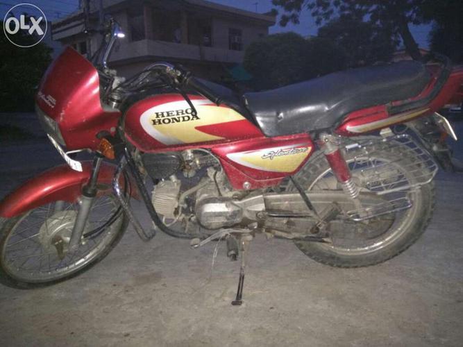 Hero honda Splendor Plus for Sale in Patiala, Punjab