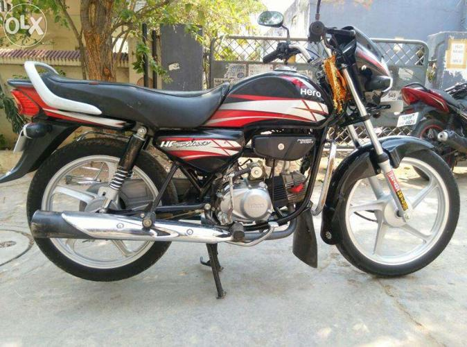 Hf Deluxe Black Red Color 2013 Model For Sale In Balanagar Andhra Pradesh Classified Indialisted Com