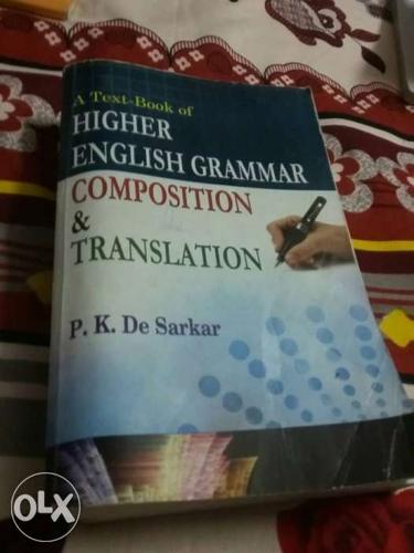 High English Grammar Composition And Translation By P K De Sarkar