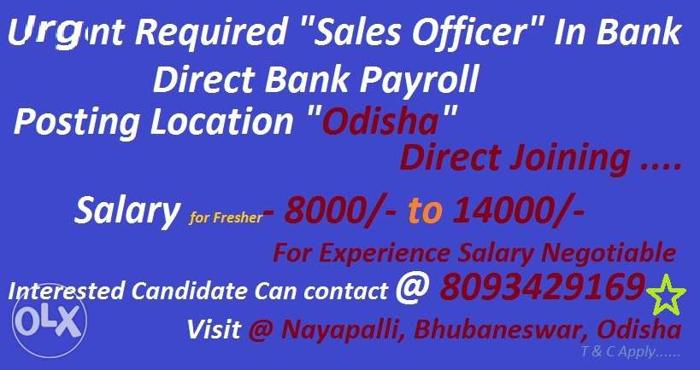 Hiring For Axis Bank As Relationship Officer Direct