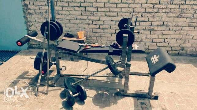 Home Gym, 14 exercises in 1 assembled Machine, in