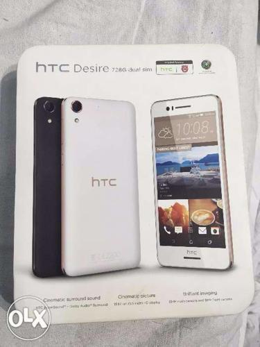 Htc Desire 728 4G CDMA /GSM 8 Months old 13mp Cam./5 MP
