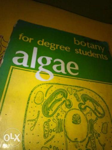 I want to cell my book Algae