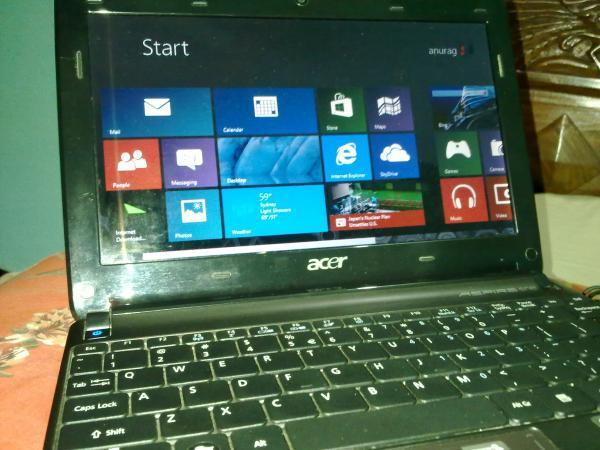 I want to sell my laptop acer aspire one 12000/-,