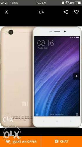 I want to sell my redmi 4a gold colour seal pack