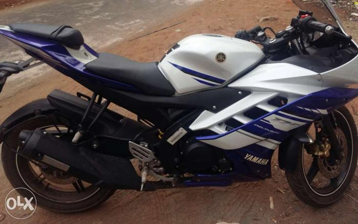I want to sell my Yamaha R15 v2 for Sale in Kollam, Kerala