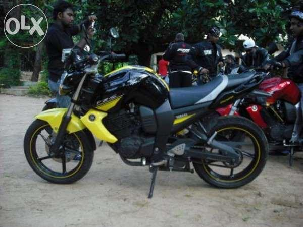I want to sell urgent,fz bike with VIP number 7786 for Sale