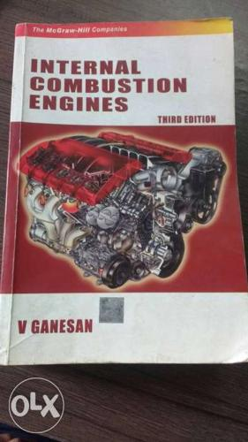 IC Engine by V Ganeshan. Price negotiable. Almost new